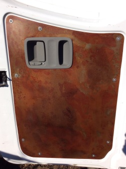 "Hand Made ""Lolo Flame"" Steel Panels"